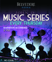 Thursday January 10 2013 - Belvedere Vodka Presents | Kysia Live Trio | Official Gangster Squad Party