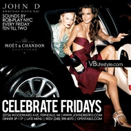 Friday May 24 2013 - Celebrate Fridays by Moet & Chandon