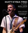 Thursday November 15 2012 - Kysia Live Trio