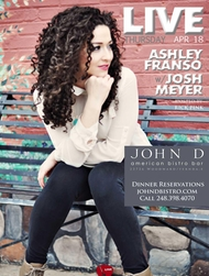 Thursday April 18 2013 - LIVE | Ashley Franso & Josh Meyer