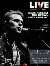 Thursday May 02 2013 - Live | Lewis Hensley