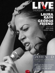 Thursday April 25 2013 - LIVE Thursdays | Laura Rain & George Friend